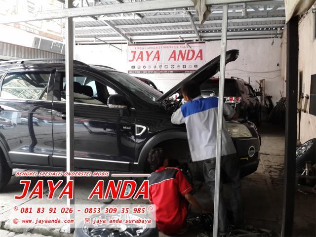Foto: Bengkel Jaya Anda Spesialis Onderstel Mobil Di Surabaya