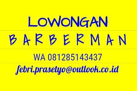 Foto: Lowongan Barberman