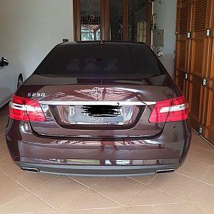 Foto: Jual Mercedes Benz E250 1.8 CGI Matic 2012