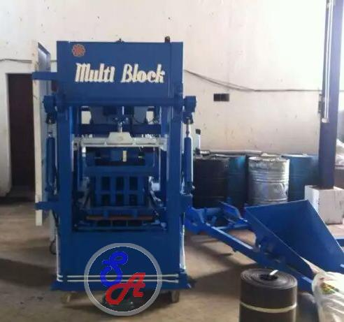 Foto: Mesin Paving dan Batako SB 306 Multi Block