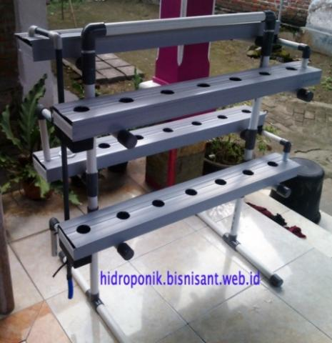 Foto: Jual Paket Starter Kit NFT5 Hidroponik, Bahan Gully, Kirim Ke Seluruh Indonesia