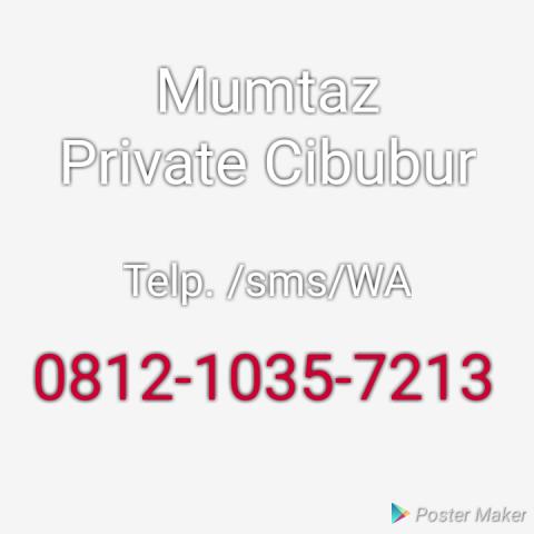 Foto: Mumtaz Private Guru Ke Rumah Di Cibubur