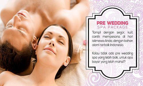Foto: Pre Wedding Spa Treatment Untuk Anda Dan Pasangan