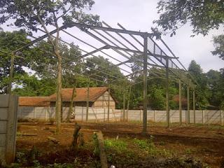 Foto: Kanopi Dan Konstruksi Baja