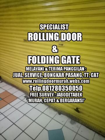Foto: Service Rolling Door Murah Depok