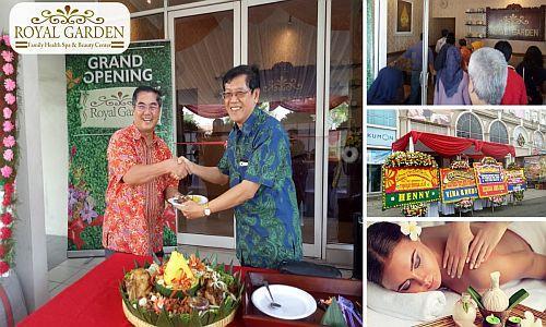 Foto: Peluang Bisnis Waralaba Royal Garden Spa, Potensi Untung Puluhan Juta Perbulan