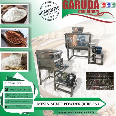 Foto: Ribbon Mixer / Mesin Pengaduk Bubuk Kapasitas 100 KG