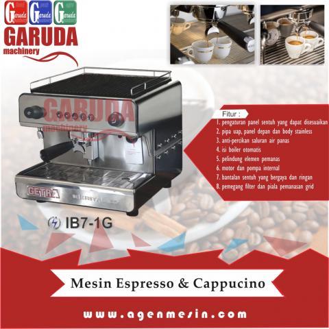 Foto: Mesin Espresso & Cappucino Tipe IB7-1G
