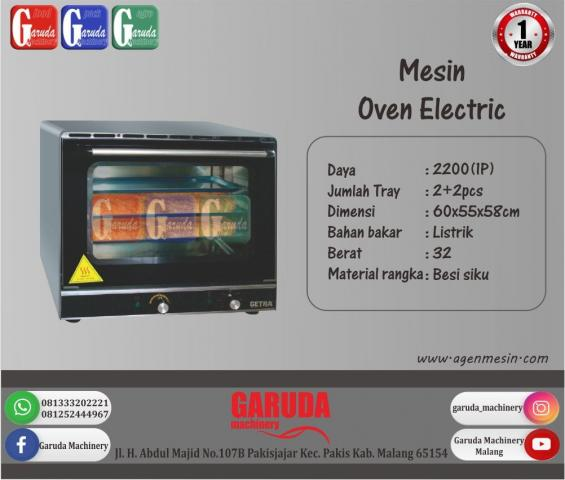 Foto: Mesin Oven Elektrik Tipe DHB-4B