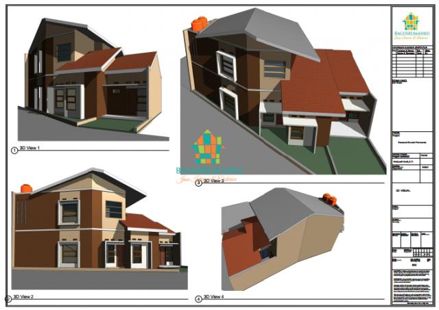 Foto: Jasa Gambar Arsitektur Rumah, Cafe, Kantor, Apartement