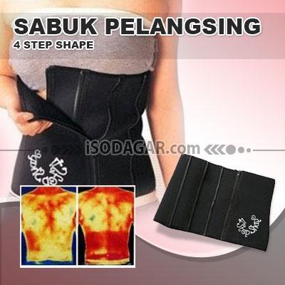 Foto: Jual Sabuk Pelangsing (4 Step Shape)