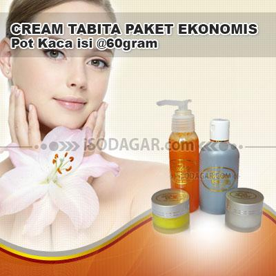 Foto: Jual Cream Tabita Paket Ekonomis (Pot Kaca)