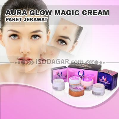 Foto: Jual Aura Glow Magic Cream (Paket Jerawat)