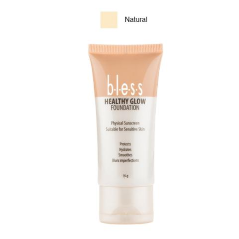 Foto: Jual Bless Healthy Glow Foundation Natural