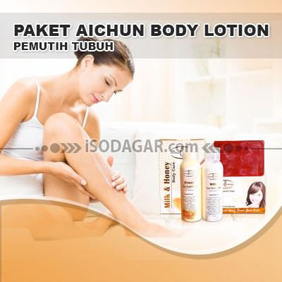 Foto: Jual Paket Aichun Body Lotion (Pemutih Tubuh)