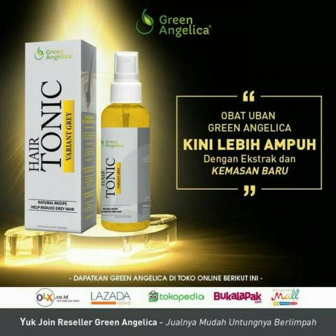 "Foto: Tonic Variant Grey ""obat Uban"" Green Angelica"