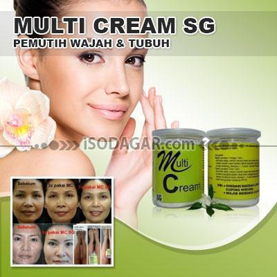 Foto: Jual Multi Cream SG (Pemutih Wajah & Tubuh)