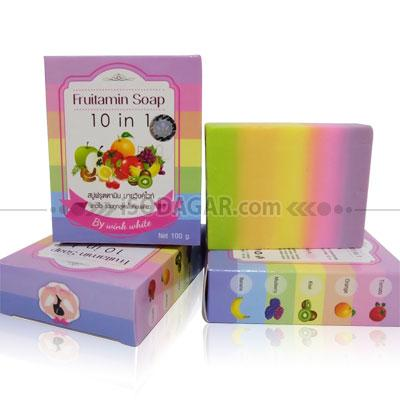 Foto: Jual Fruitamin Soap 10in1 (by Wink White)