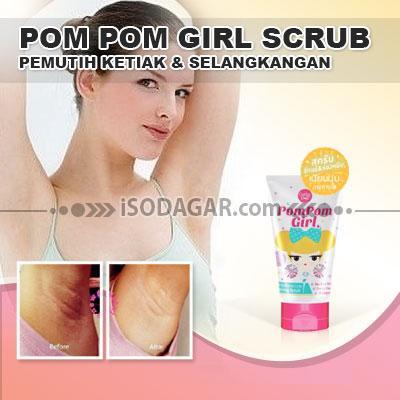 Foto: Jual Pom Pom Girl Scrub (Pemutih Ketiak & Selangkangan)