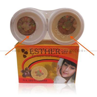 Foto: Jual Esther Bleaching Cream A-B Sabun Esther (Original)