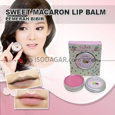 Foto: Jual Sweet Macaron Lip Balm Ori (Pemerah Bibir)
