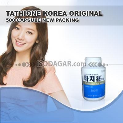 Foto: Jual Tathione Korea Original (500 Capsule New Packing)
