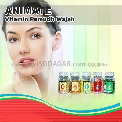Foto: Jual Animate Original (Vitamin Pemutih Wajah)