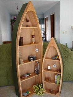 Foto: Lemari Perahu Cantik (Cabinet Boats)