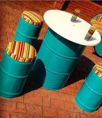 Foto: Kursi Drum Masa Kini
