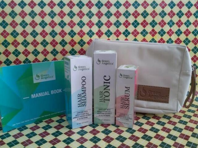 Foto: Paket Lengkap Penumbuh Dan Perawatan Rambut Alami