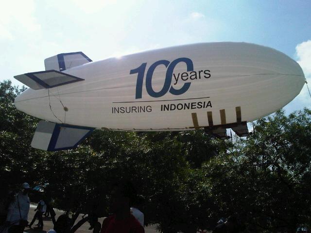 Foto: Jasa Balon Zeppelin Sewa Balon Zeppelin